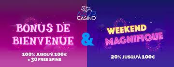 offres bonus et promotions sur azur casino